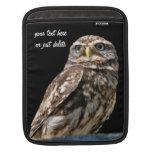 Manga de encargo del ipad del pájaro hermoso de la funda para iPads