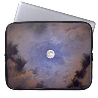 Manga de encargo del ordenador portátil de la Luna Manga Portátil
