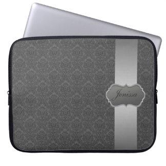 Manga de encargo del ordenador portátil del fundas portátiles