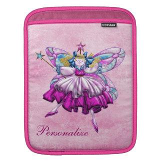 Manga de hadas del iPad del ciruelo rosado lindo d Funda Para iPads