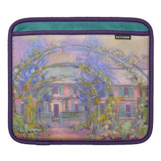 Manga de IPad de la casa y del jardín de Monet