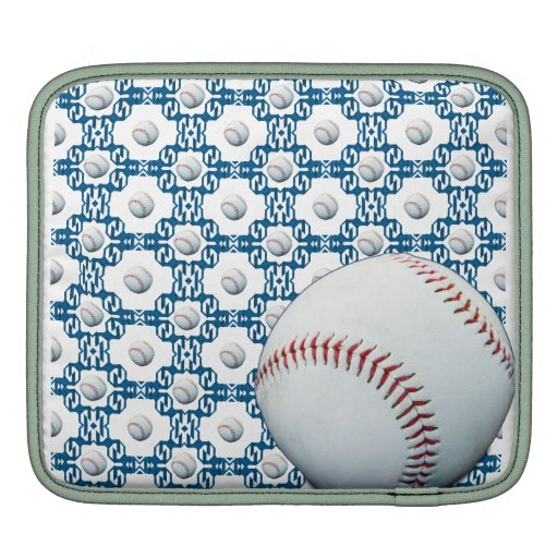 Manga de Ipad del adorno del béisbol