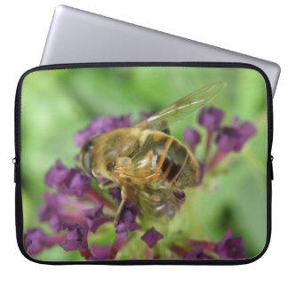 Manga de la abeja y del ordenador portátil de las mangas portátiles