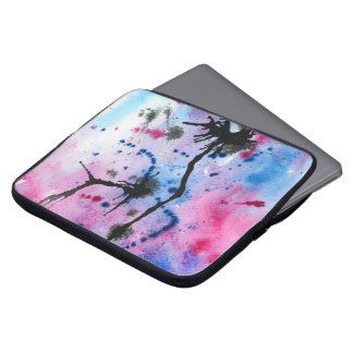 Manga de la acuarela del colorfull del ordenador p manga computadora