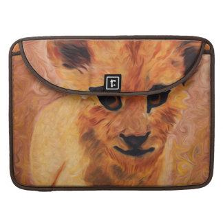 Manga de la aleta de Cub de león MacBook Pro Funda Macbook Pro