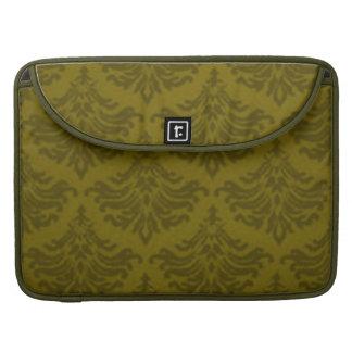 Manga de la aleta de Macbook del verde verde oliva Funda Macbook Pro