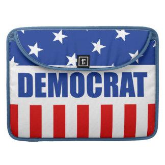 Manga de la aleta del carrito de Demócrata Fundas Macbook Pro