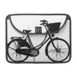 Manga de la caja de la bicicleta fundas para macbook pro