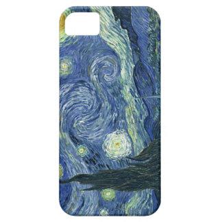 Manga de la célula de la noche estrellada de Van iPhone 5 Carcasas
