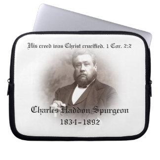 Manga de la electrónica de Charles Haddon Spurgeon Funda Ordendadores