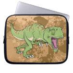 Manga de la electrónica del dinosaurio del Tyranno Fundas Ordendadores