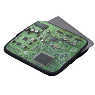 Manga de la placa de circuito manga computadora