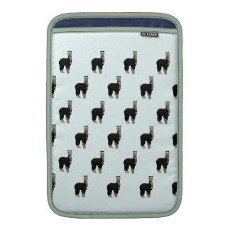 Manga de Macbook del carrito de la alpaca del smok Fundas MacBook