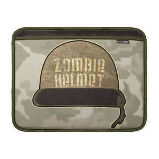 Manga de Macbook del casco del zombi Fundas Macbook Air