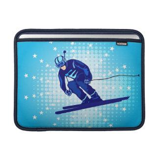 Manga de MacBook del esquiador Fundas Macbook Air