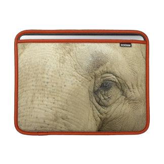 Manga de MacBook del primer del ojo del elefante Funda Para Macbook Air