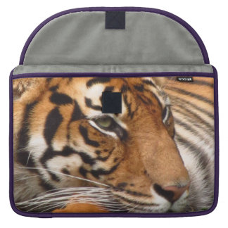 Manga de Macbook del tigre favorable Fundas Para Macbook Pro