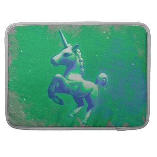 Manga de Macbook del unicornio (que brilla Funda Para Macbooks