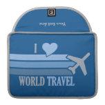 Manga de MacBook del World Travel Fundas Macbook Pro