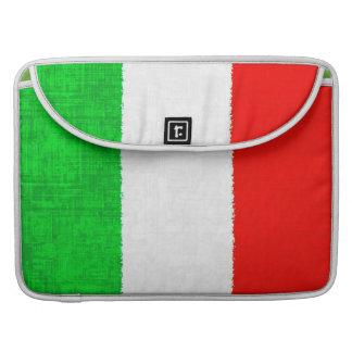 Manga de MacBook Pro de la BANDERA de ITALIA Funda Para Macbook Pro
