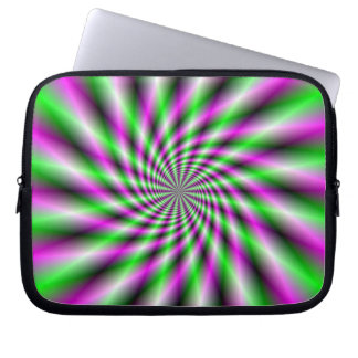 Manga de neón del ordenador portátil de la rueda d mangas computadora