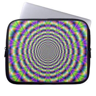 Manga de neón del ordenador portátil del pulso manga portátil