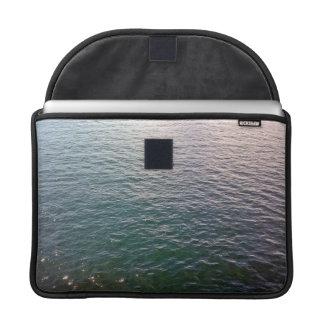Manga de ondulación del ordenador portátil de funda para macbook pro