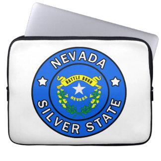 Manga de plata del estado de Nevada Fundas Ordendadores