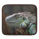 Manga del carrito con la cabeza del lagarto de la  fundas para iPads
