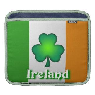 Manga del carrito de la bandera de Irlanda Mangas De iPad