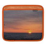Manga del carrito de la salida del sol funda para iPads