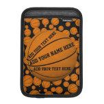 Manga del carrito de los baloncestos funda de iPad mini