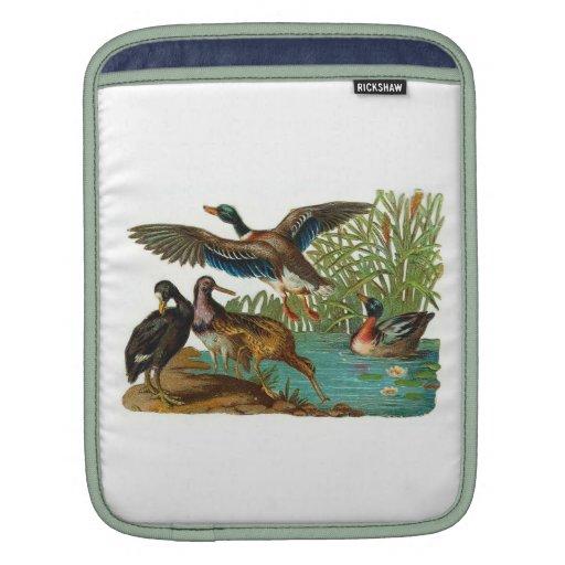 Manga del carrito de los patos salvajes fundas para iPads