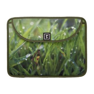 Manga del carrito de Macbook de la hierba del desc Funda Para Macbooks