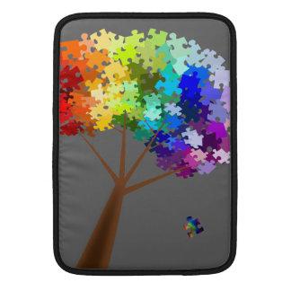 Manga del carrito del árbol de la conciencia del a fundas para macbook air
