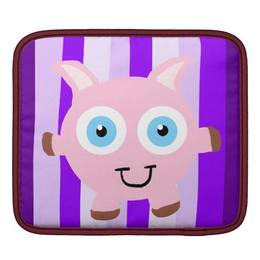 Manga del carrito del cerdo del dibujo animado manga de iPad