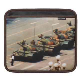 Manga del carrito del hombre del tanque mangas de iPad