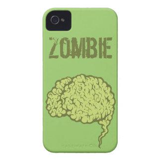 Manga del caso 4s del iPhone 4 del cerebro del zom iPhone 4 Coberturas