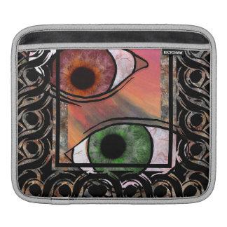 manga del cojín del ojo funda para iPads