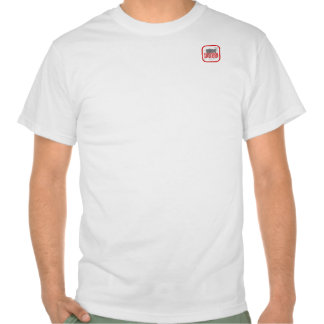 Manga del cortocircuito de la camiseta del logotip