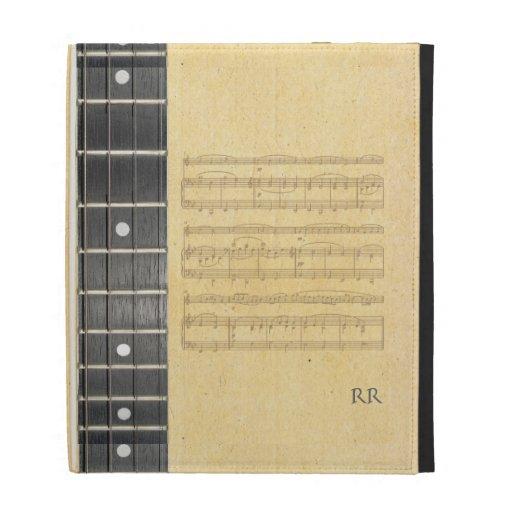 Manga del iPad de Caseable de la partitura de Fret