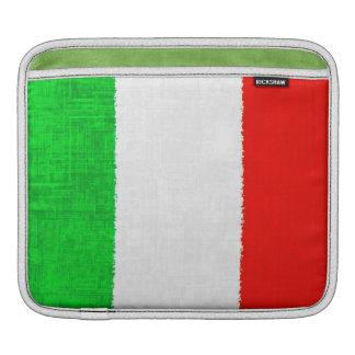 Manga del iPad de la BANDERA de ITALIA Fundas Para iPads
