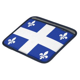 Manga del iPad de la bandera de Quebec Mangas De iPad