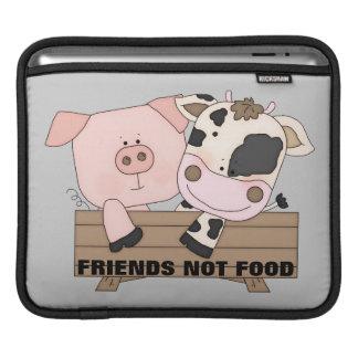 Manga del iPad de la comida de los amigos no Fundas Para iPads