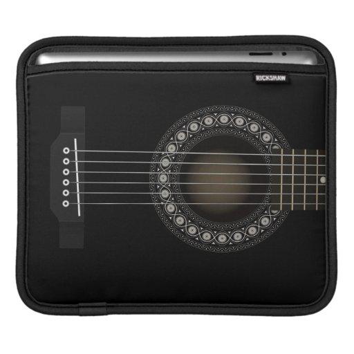 Manga del iPad de la guitarra acústica Funda Para iPads