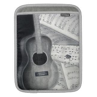 Manga del iPad de la guitarra y de la partitura Mangas De iPad