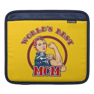 Manga del iPad de la mamá del remachador de Rosie  Fundas Para iPads