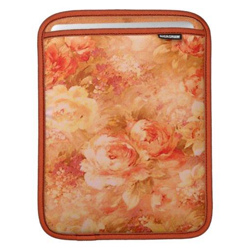Manga del iPad de la pintura de la flor Mangas De iPad