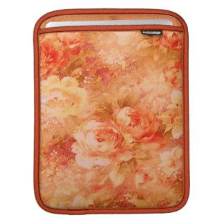 Manga del iPad de la pintura de la flor Fundas Para iPads
