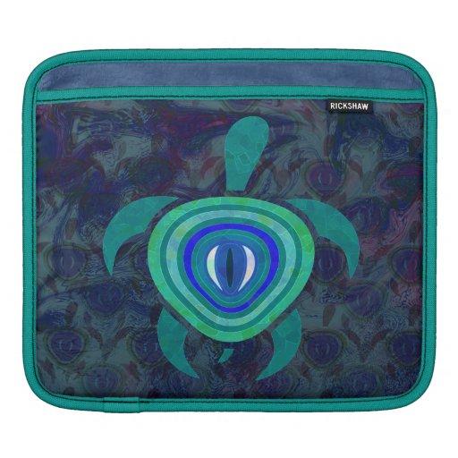 Manga del iPad de la tortuga del ojo azul Mangas De iPad